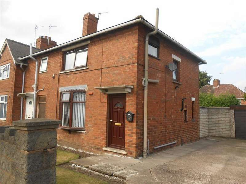 3 Bedrooms End Of Terrace House for sale in Foster Street, Walsall