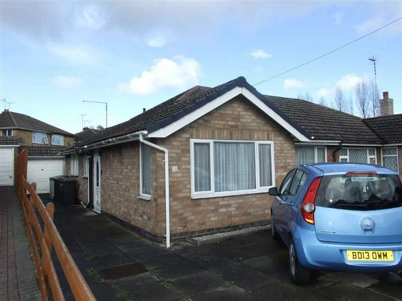 2 Bedrooms Semi Detached Bungalow for sale in Hayes Green Road, Bedworth