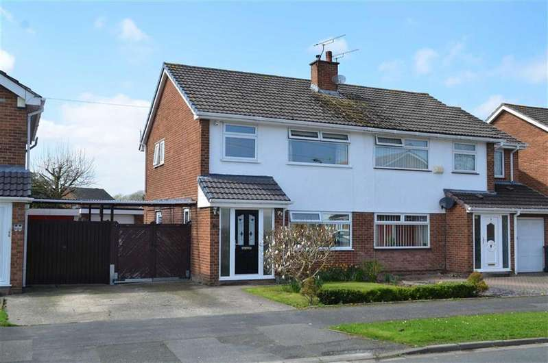3 Bedrooms Semi Detached House for sale in Knottingley Drive, Great Sutton, CH66