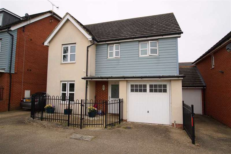 4 Bedrooms Detached House for sale in Mathecombe Road, Cippenham