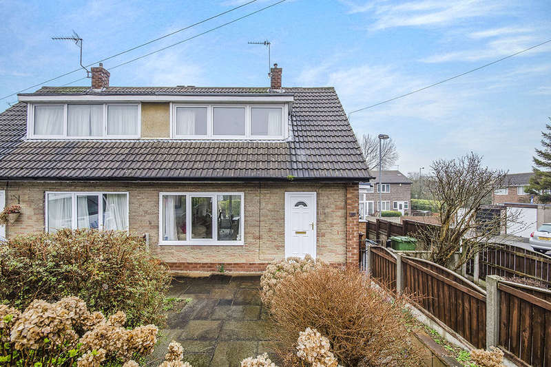 2 Bedrooms Semi Detached Bungalow for sale in Bexhill Close, Pontefract, WF8