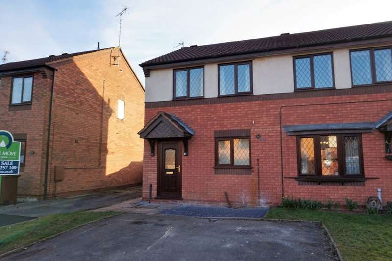 2 Bedrooms Semi Detached House for sale in Aldrin Close, Stafford, ST16