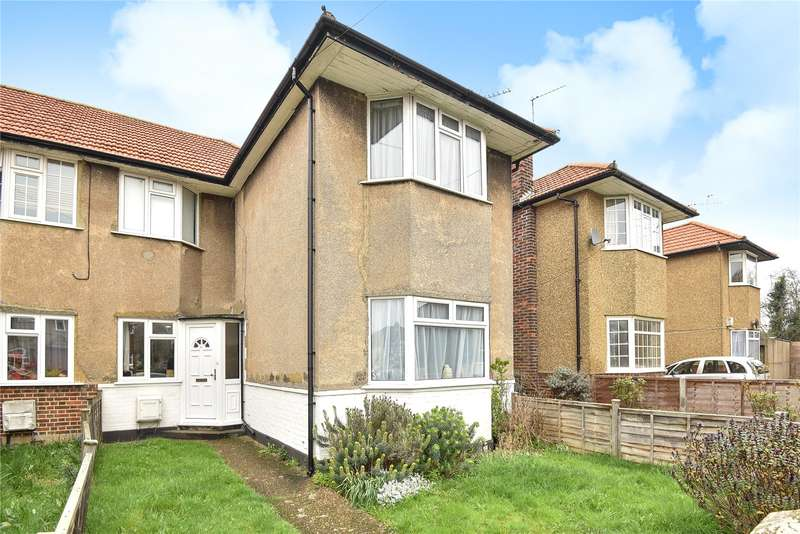 2 Bedrooms Maisonette Flat for sale in Berkeley Close, Ruislip, Middlesex, HA4