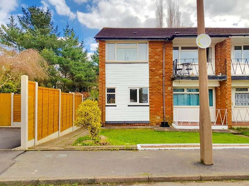 2 Bedrooms Maisonette Flat for sale in MANORFORD AVENUE, WEST BROMWICH, B71 3QH