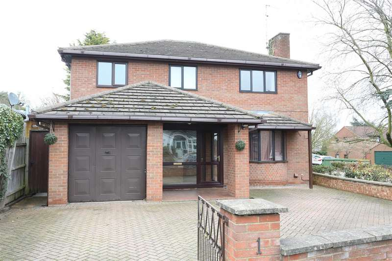 4 Bedrooms Detached House for sale in Gillitts Road, Wellingborough