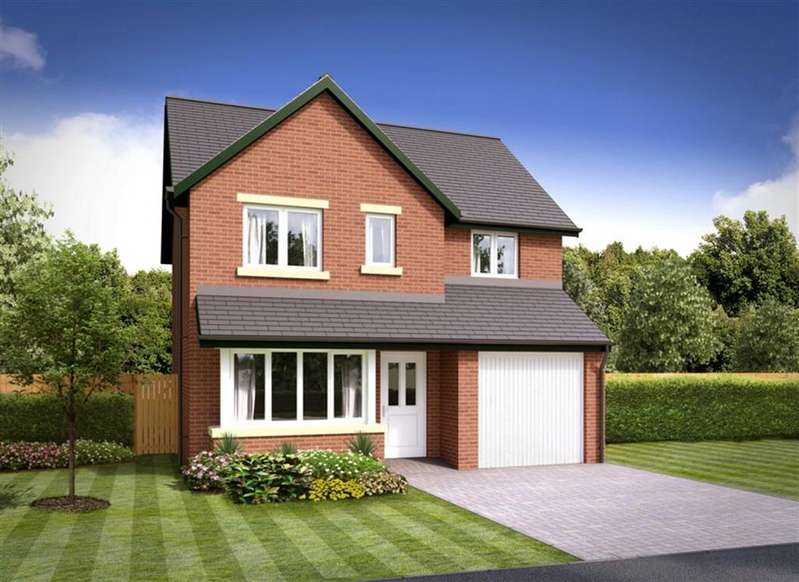 4 Bedrooms Detached House for sale in The Bowfell - Plot 39, Barrow-in-Furness, Cumbria