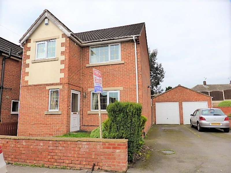 3 Bedrooms Detached House for sale in Pastures Mews, Mexborough