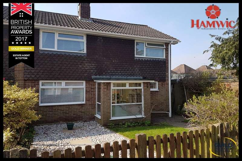 3 Bedrooms Semi Detached House for sale in Powell Crescent, Totton, Southampton SO40