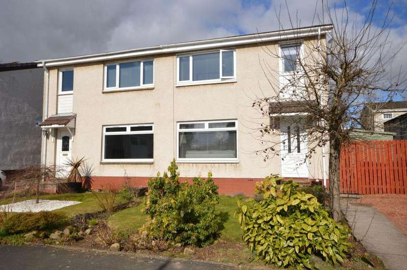 3 Bedrooms Semi Detached House for sale in 14 Juniper Drive, Milton Of Campsie, Glasgow, G66 8HL