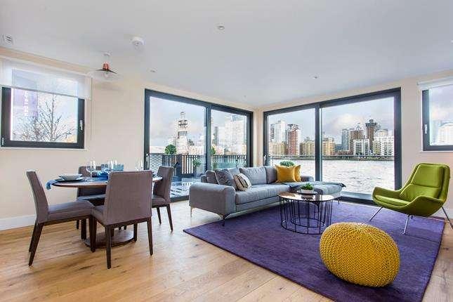 2 Bedrooms Flat for sale in New Pier Wharf, 1-3 Odessa Street, London, SE16 7LU