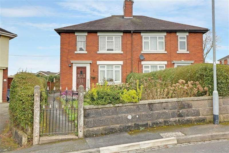 3 Bedrooms Semi Detached House for sale in Sandringham Crescent, Hanford, Stoke-on-Trent