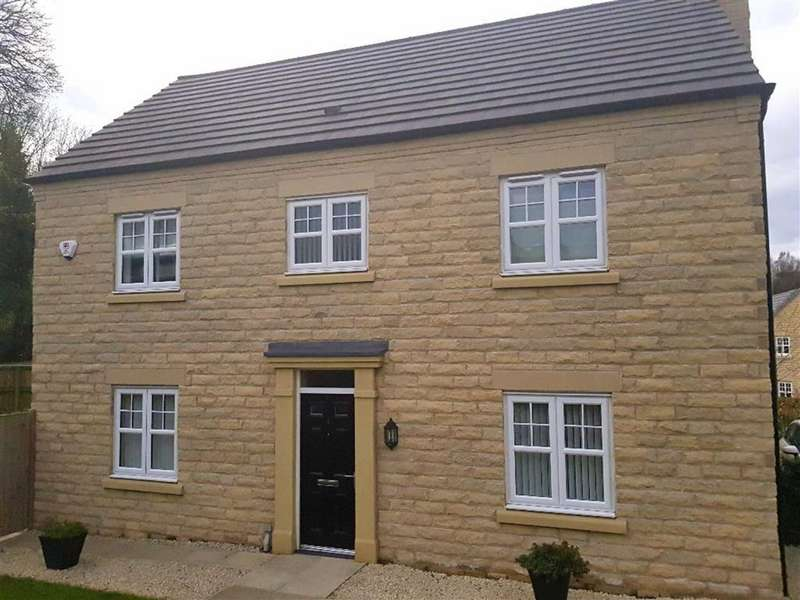 4 Bedrooms Detached House for sale in Davenshaw Drive, Astbury Place, Congleton