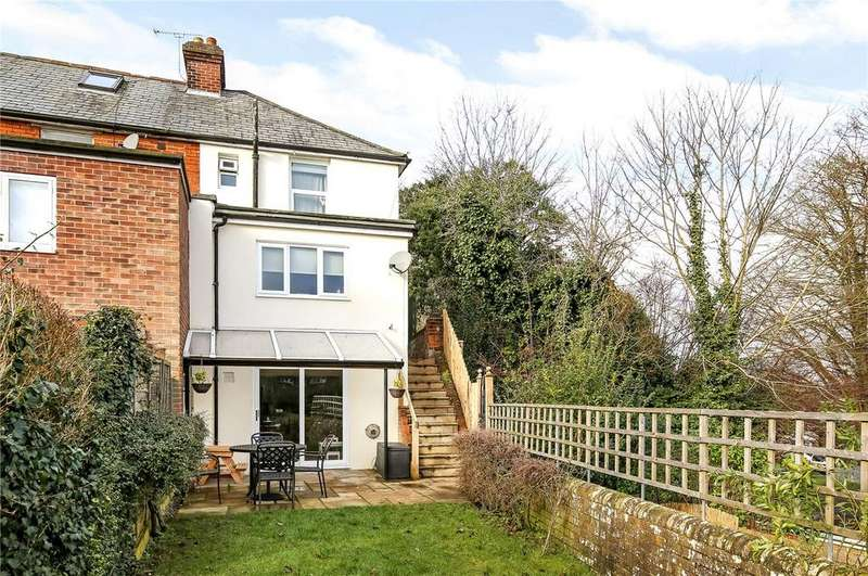 4 Bedrooms End Of Terrace House for sale in St. Johns Road, Winchester, Hampshire, SO23