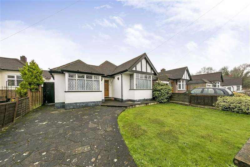 2 Bedrooms Detached Bungalow for sale in Manor Drive, Ewell, Surrey