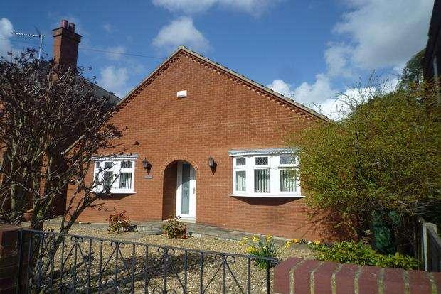 2 Bedrooms Detached Bungalow for sale in Burdett Road, Wisbech, PE13