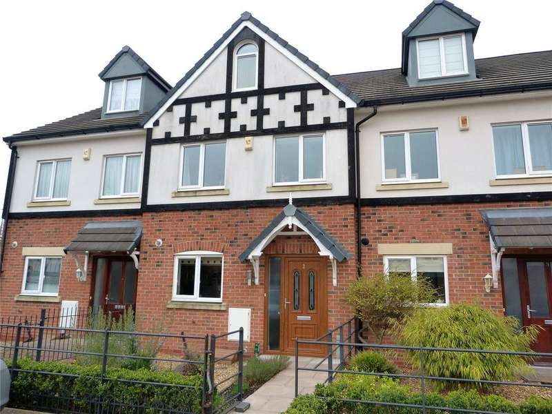 3 Bedrooms Terraced House for sale in Imperial Court, Nantwich, Cheshire, CW5
