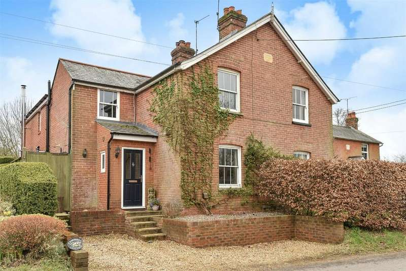 4 Bedrooms Semi Detached House for sale in Petersfield Road, Ropley, ALRESFORD, Hampshire