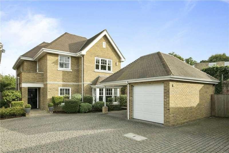 4 Bedrooms Detached House for sale in Hanger Hill, Weybridge, Surrey, KT13