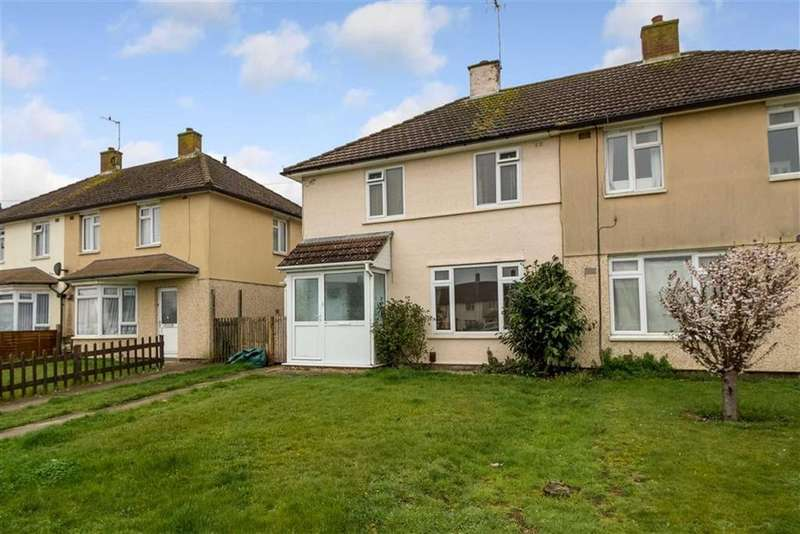 2 Bedrooms Semi Detached House for sale in Musgrove, Ashford, Kent