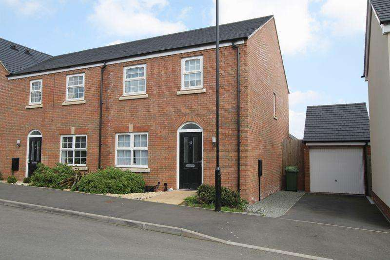 4 Bedrooms Semi Detached House for sale in Red Norman Rise, Hereford