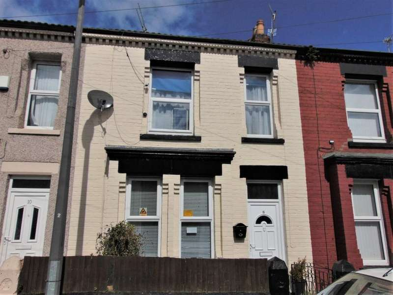 2 Bedrooms Terraced House for sale in Tudor Road Rock Ferry