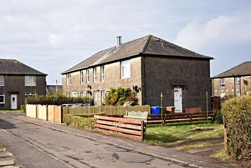 2 Bedrooms Flat for sale in Woodfield Crescent, Ayr, South Ayrshire, KA8 8NU
