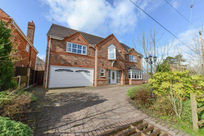 5 Bedrooms Detached House for sale in The Lane, Coppenhall, Stafford