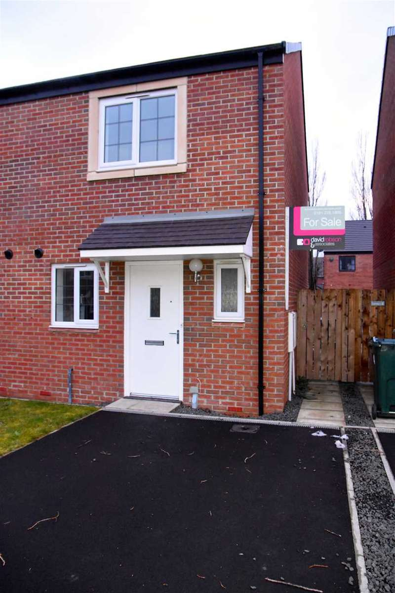 2 Bedrooms Semi Detached House for sale in Walkerfield Court, Newcastle upon Tyne