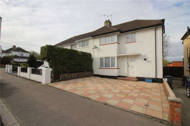 3 Bedrooms Semi Detached House for sale in Cardinal Avenue, Borehamwood, Hertfordshire, WD6