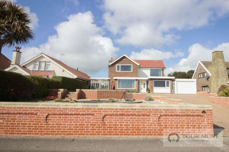 3 Bedrooms Detached House for sale in Gunton Cliff, Lowestoft, NR32