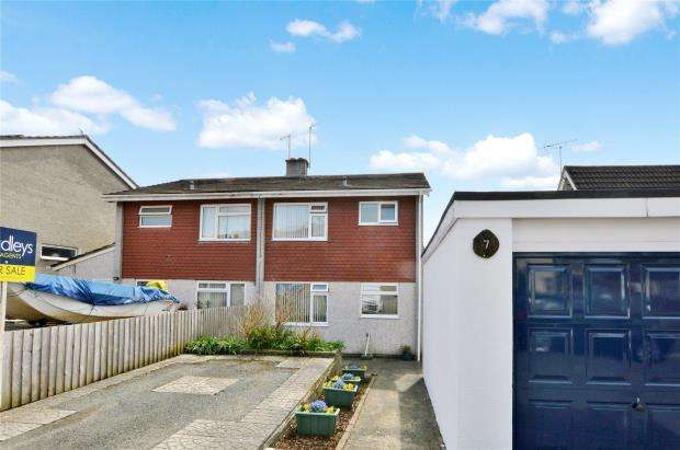 3 Bedrooms Semi Detached House for sale in Mortimore Close, Saltash, Cornwall