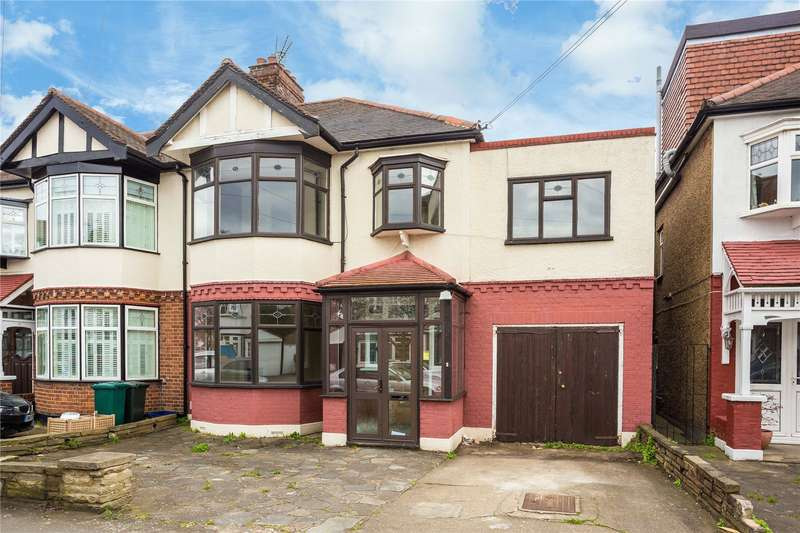 4 Bedrooms Semi Detached House for sale in Onslow Gardens, South Woodford, London
