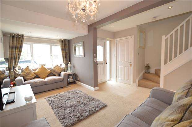 2 Bedrooms Semi Detached House for sale in Slimbridge Close, Yate, BRISTOL, BS37 8XY