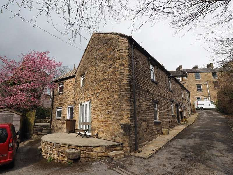 4 Bedrooms Semi Detached House for sale in Cherry Tree Cottages, New Mills, High Peak, Derbyshire, SK22 4AH