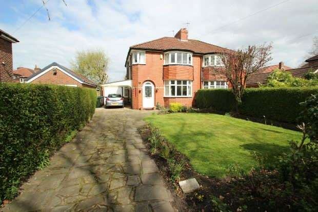 3 Bedrooms Semi Detached House for sale in Homelands Road, Sale