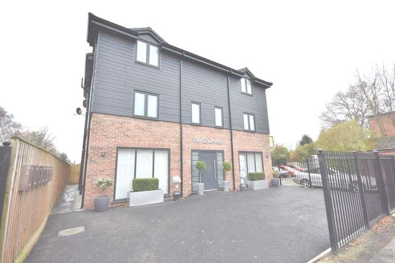 2 Bedrooms Apartment Flat for sale in TOP FLOOR APARTMENT, THE COURTYARD, PARK LANE, POYNTON