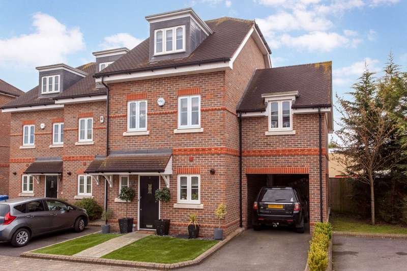 4 Bedrooms End Of Terrace House for sale in Park Lodge Close, Maidenhead, Berkshire, SL6