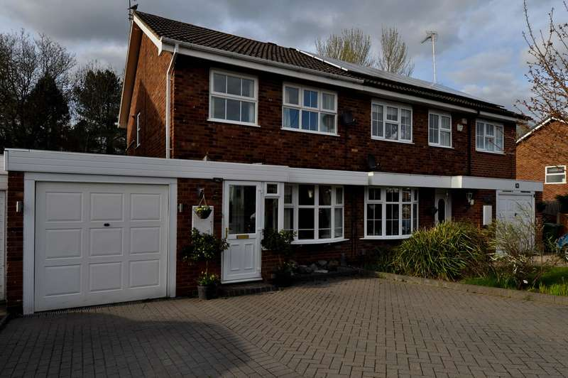 3 Bedrooms Semi Detached House for sale in Edgmond Close, Redditch, B98