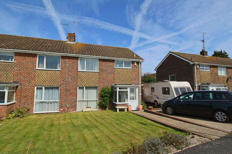 3 Bedrooms Semi Detached House for sale in Ockley Way, Hassocks, West Sussex