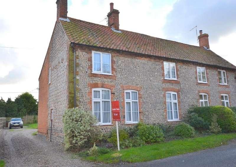 4 Bedrooms Semi Detached House for rent in Matlaske, Norfolk