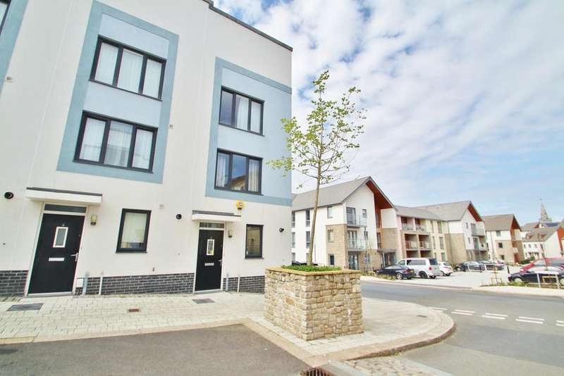 3 Bedrooms End Of Terrace House for sale in Monument Street, Plymouth
