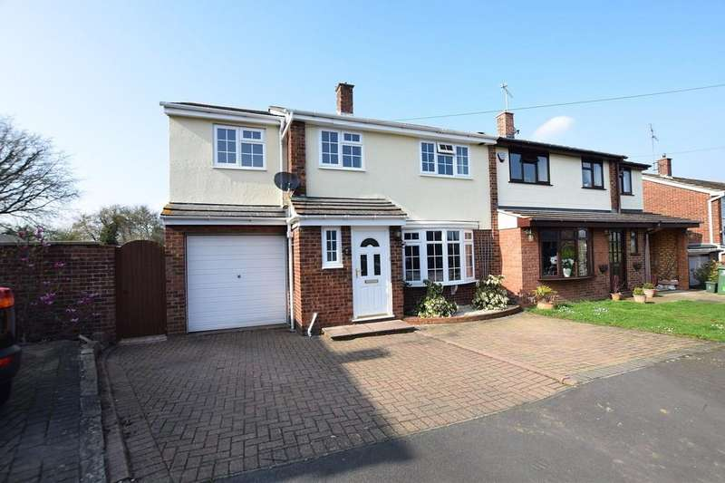 4 Bedrooms Semi Detached House for sale in Bedells Avenue, Black Notley