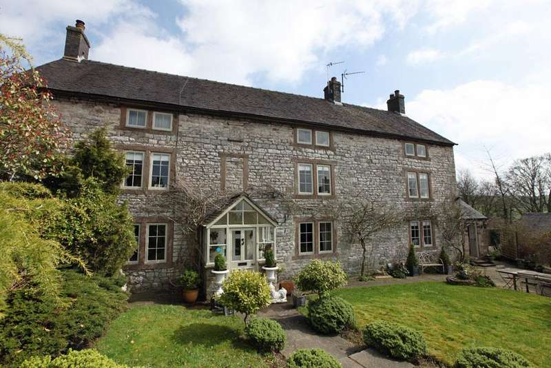 5 Bedrooms Village House for sale in The Manor House and Cottage, Church Street, Brassington, Derbyshire DE4