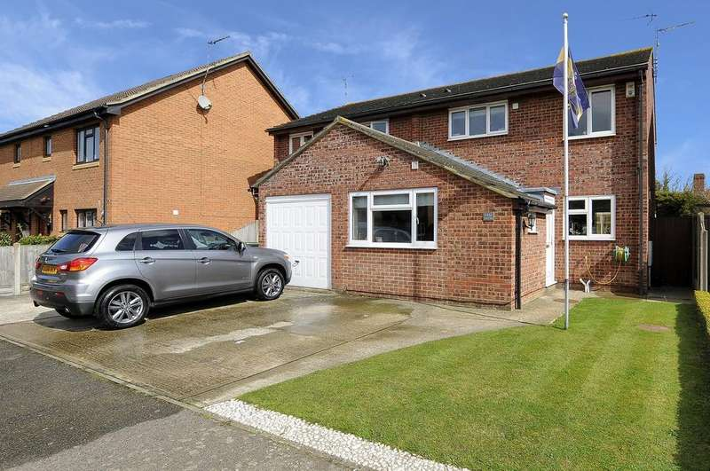 4 Bedrooms Semi Detached House for sale in Peartree Road, Broomfield, Herne Bay, Kent