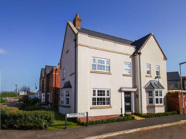 4 Bedrooms Detached House for sale in Thomas Place, Wellington TA21