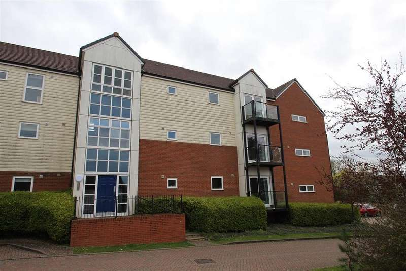 2 Bedrooms Apartment Flat for sale in East Moor Drive, Wolverton Mill, Milton Keynes
