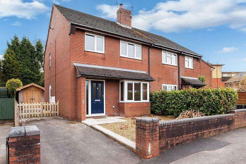 3 Bedrooms Semi Detached House for sale in Solly Crescent, Congleton