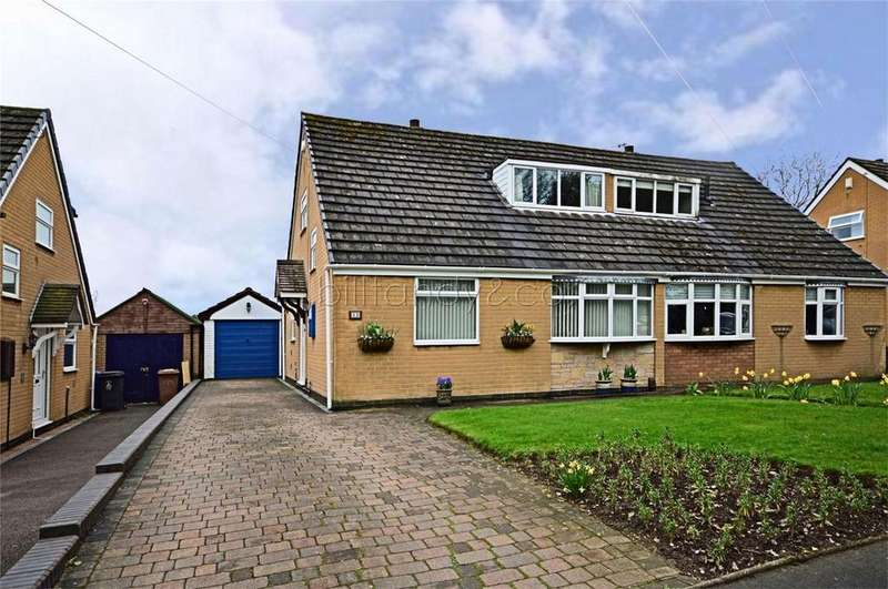 3 Bedrooms Semi Detached House for sale in Pooles Way, Burntwood, Staffordshire
