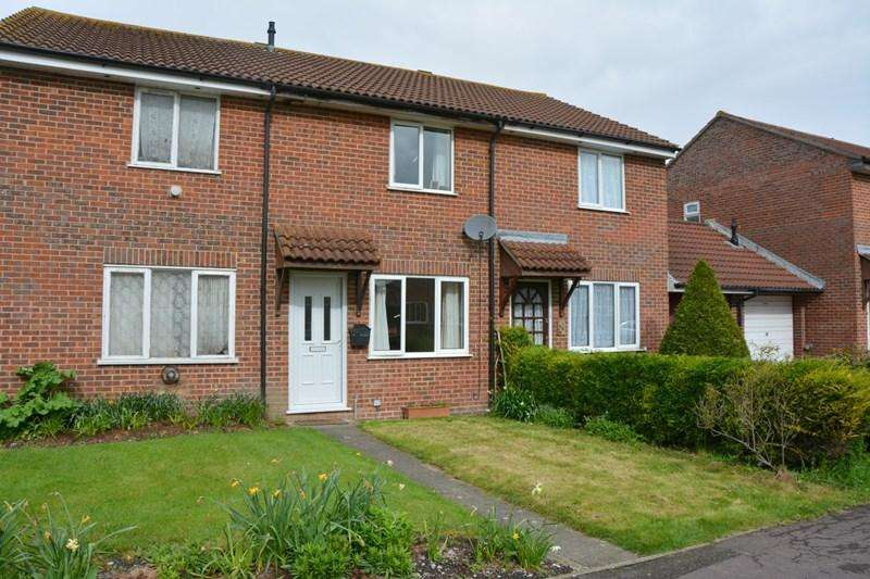 2 Bedrooms Terraced House for sale in Fraser Close, Burnham-On-Sea