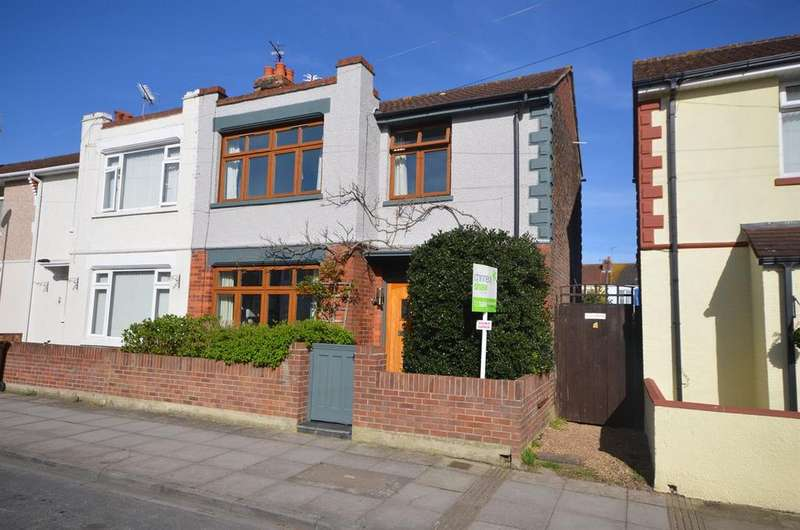 3 Bedrooms End Of Terrace House for sale in Lichfield Road, Baffins, Portsmouth